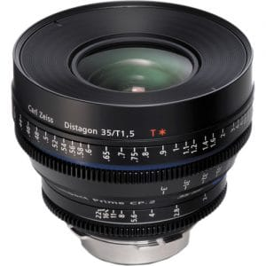 لنز زایس ZEISS CP.2 35mm/T1.5 Super Speed | سینما کالا