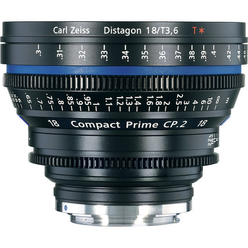 لنز زایس مدل Zeiss Compact Prime CP.2 18mm