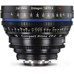 لنز زایس ZEISS Compact Prime CP-2 18mm T3/6 | تلفن : ۳۰ ۷۲ ۷۲ ۶۶- ۰۲۱