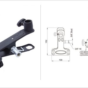 گیره Kupo KCP-360B │ ALI CLAMP - BLACK