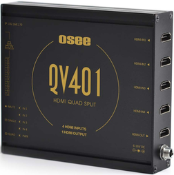 کواد اسپلیتور Osee QV401 HDMI Quad Split | تلفن : ۳۰ ۷۲ ۷۲ ۶۶- ۰۲۱