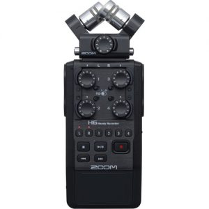 میکروفون زوم Zoom H6 Handy Recorder with Microphone