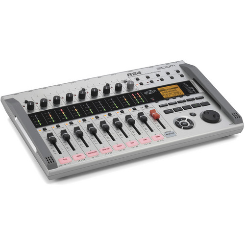 میکروفون زوم Zoom R24 Multi-Track Recorder | سینما کالا