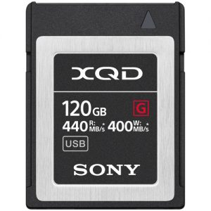 مموری کارت سونی Sony 120GB G Series XQD Memory Card