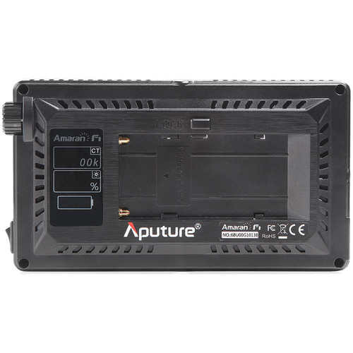 نور روی دوربین آپچر Aputure Amaran AL-F7 On-Camera LED Light