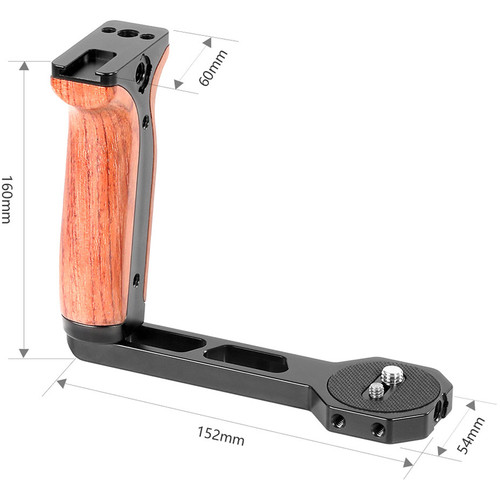 هندل اسمال ریگ SmallRig Wooden Side Handle 2222