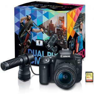 دوربین کانن Canon EOS 90D DSLR Camera Video Creator Kit