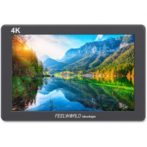 "FeelWorld 7"" 2200 cd/m² Full HD HDMI On-Camera Monitor with 4K Support"