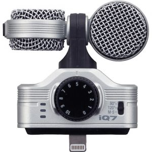 میکروفون زوم Zoom iQ7 Mid-Side Microphone for iOS