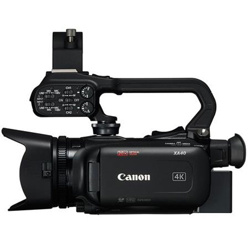 Canon XA40 4K UHD Pro Camcorder with 20x Optical Zoom Lens