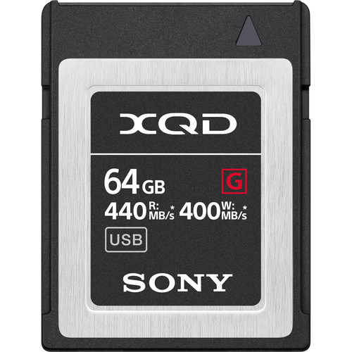 مموری کارت سونی Sony G Series 64GB XQD Memory Card