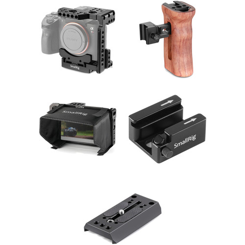 کیت ککیت کیج اسمال ریگ Smallrig cage kit SA0001یج اسمال ریگ SmallRig A7II/ A7III CAGE KIT SA0001