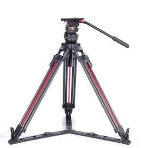 سه پایه تریس Teris TSN6CF-Q Fluid Head & Tripod Kit