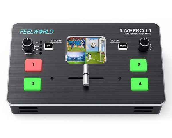 ویدیو میکسر FEELWORLD LIVEPRO L1 Multi-format Video Mixer