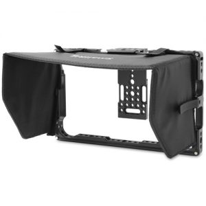 "SmallRig Atomos 7"" Monitor Cage with Sunshade Sunshade HDMI Clamp 2 x 1/4""-20 Screw 2 x Allen Wrench"