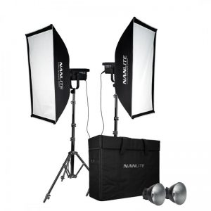 NANLITE FS-200 2KIT WITH LIGHT STAND
